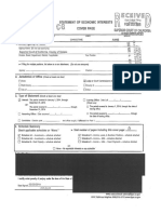 Judge Christine Carringer's Form 700 from 2014