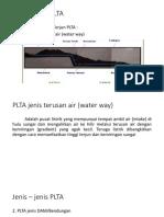 Jenis – Jenis PLTA