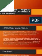 Storage Location Assignment Problem