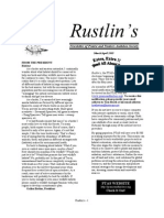 Mar-Apr 2005 Rustlin's Newsletter Prairie and Timbers Audubon Society