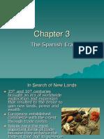 Chapter 4 the Spanish Era