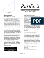 Jan-Feb 2006 Rustlin's Newsletter Prairie and Timbers Audubon Society