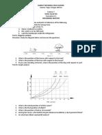 Third Quarter Formative Tests