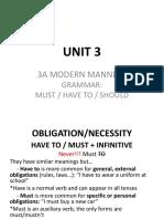 Unit 3a Grammar