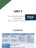 Unit 3c Grammar