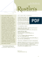 Oct-Dec 2006 Rustlin's Newsletter Prairie and Timbers Audubon Society