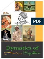 Important Dynasties of Rajasthan