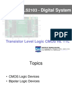 04 Transistor Level Logic CMOS TTL PS(1)