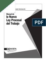 14 Manual de La Nueva Ley Procesal Del Trabajo