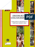 Creating Better Cities for Migrants