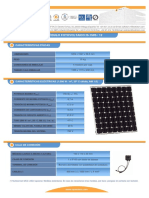 F T Modulo Fotovoltaico I150S 12 Esp