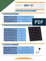 F T Modulo Fotovoltaico I150S 12ul Esp