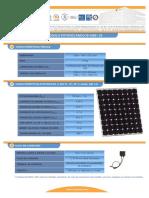 F T Modulo Fotovoltaico I150S 24 Esp