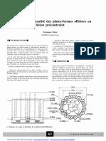 'Actualité Des Plates-Formes Offshore en Béton Précontraint
