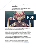 El Influencer Marketing