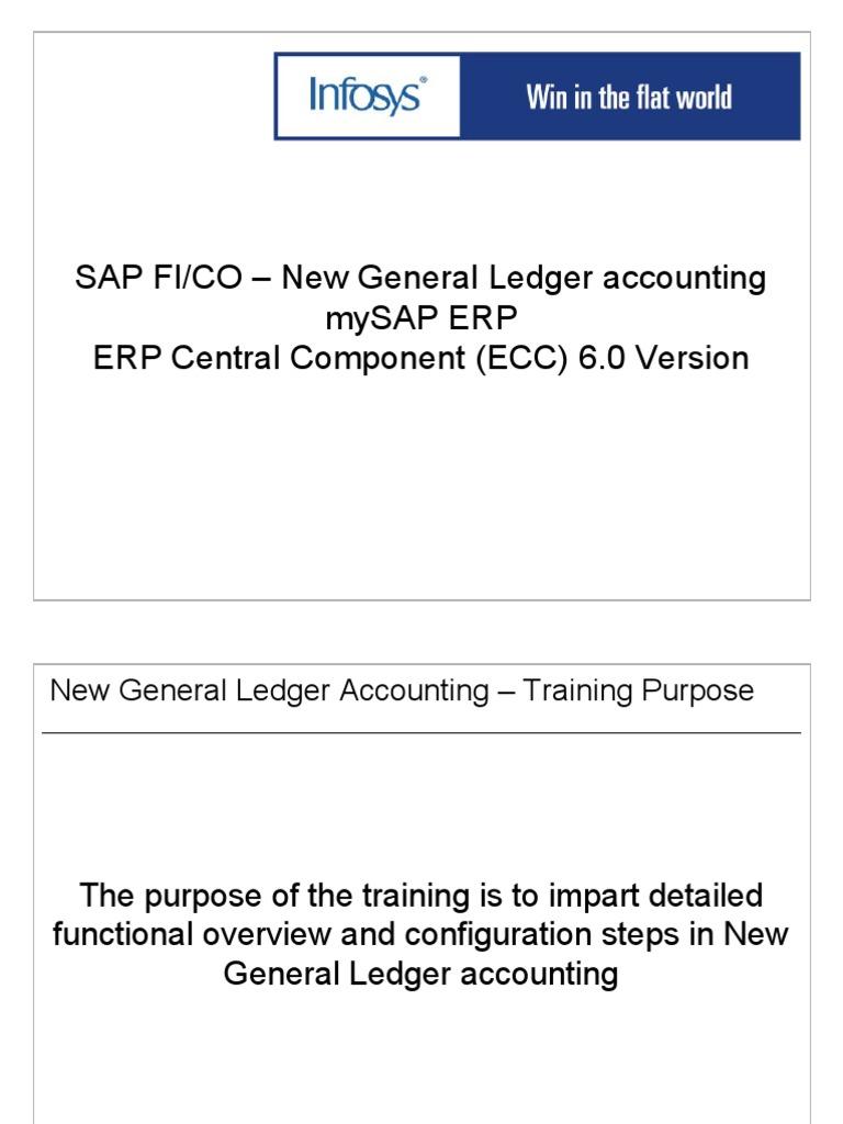 1 sap fico new gl accounting training ppt real time computing rh scribd com