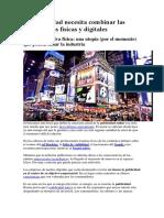 La publicidad necesita combinar las experiencias físicas y digitales.docx