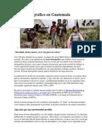 Bono Demográfico en Guatemala Jessi - Copia