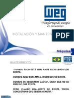 Instalación y Mantenimiento de Máquinas-Curso WEG