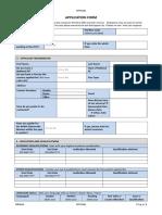 Application Form -MENAD Edited