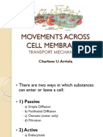 Movements Across Membranes