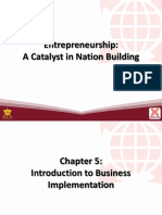 5 Introduction to Business Implementation