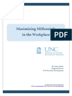 UNC Millenials Workplace Study