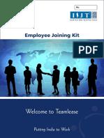 Employee Joining Kit