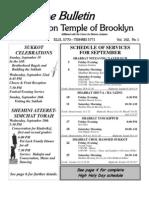 UT Bulletin September 2010[1]