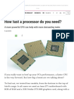 How Fast a Processor Do You Need_ _ Alphr