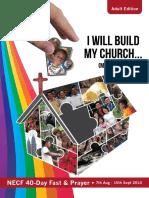 NECF 40 Days Fast & Prayer (2014)
