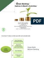 Bangladesh Bank Presentation on Green Banking