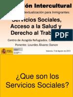 Mediación Intercultural. Servicios Sociales, Salud y Trabajo