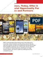 Mobility India- Smartphones,Today,Offer a Big Financial Opportunity for Companies and Partners
