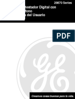 Manual Tel General Electric 29871 - ES