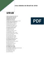 As 100 maiores cidades do Brasil de 1910 a 2010.docx