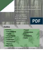 Analisis Sumber Daya Alam Dan Lingkungan