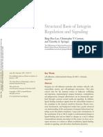 Structural Basis of Integrin Regulation and Signaling