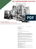 Verzoek aanpassing 'Leefbaarheidsplan GranVista'  aan Woningcorporatie Ymere