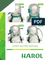 2 CPAP and NIV Helmets