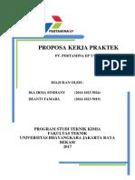 Proposal Kp Pertamina Tambun