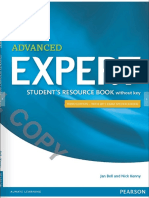 1expert Advanced Student s Resource Book Without Keys and Pra