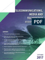 Telecommunications Media and Technology Myanmar Update 2017