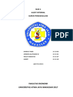Makalah Audit Internal - Klp 9 - Akuntansi E - Bab 4 - Survei Pendahuluan