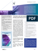 The New Law and Market Access for Petroleum Products in Myanmar