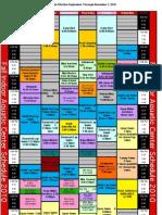 2010-2011 Aquatics Schedule