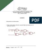 AD2 Introdução a Informática 2014-2 Respostas