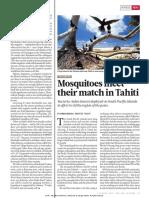 Wolbachia Against Mosquitoes Tahiti