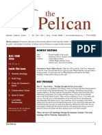 May-June 2006 Pelican Newsletter Lahontan Audubon Society