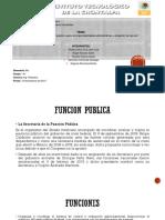 Principios Que Rigen La Función Publica, Sujeto de Responsabilidades Administrativas y Obligación Del Servicio